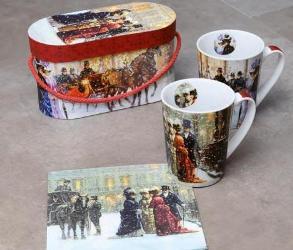 Wi teczne dekoracje prezenty i upominki na gwiazdk for Hoff interieur katalog